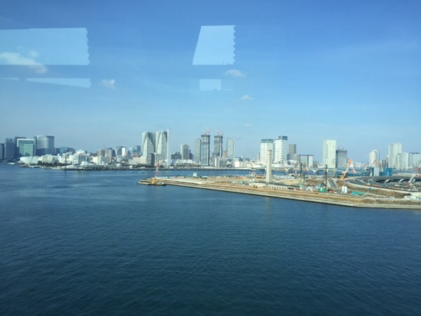 Tokyo, from the bus to the airport