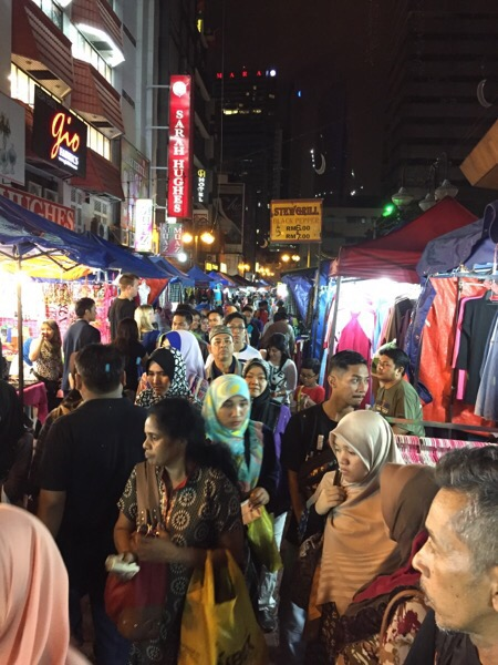 Crazy night market
