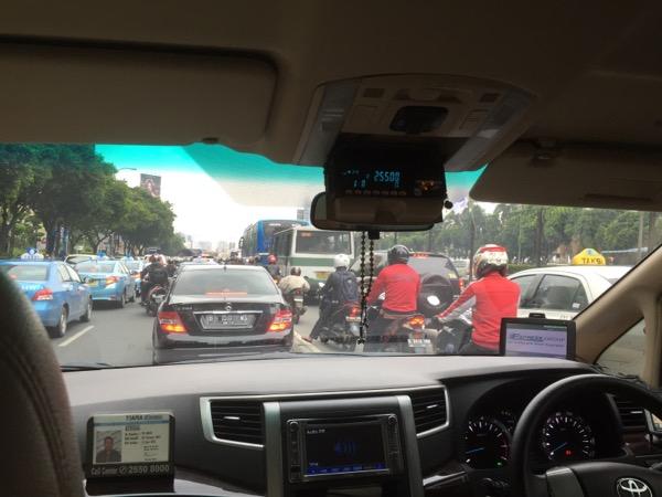 Crazy Jakarta traffic