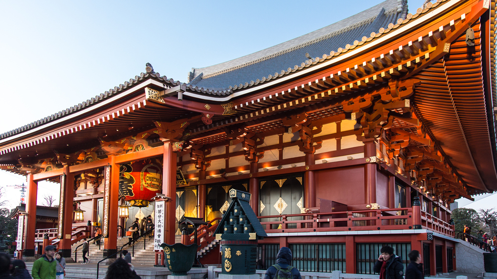 Sensoji, the main temple. Just beautiful.