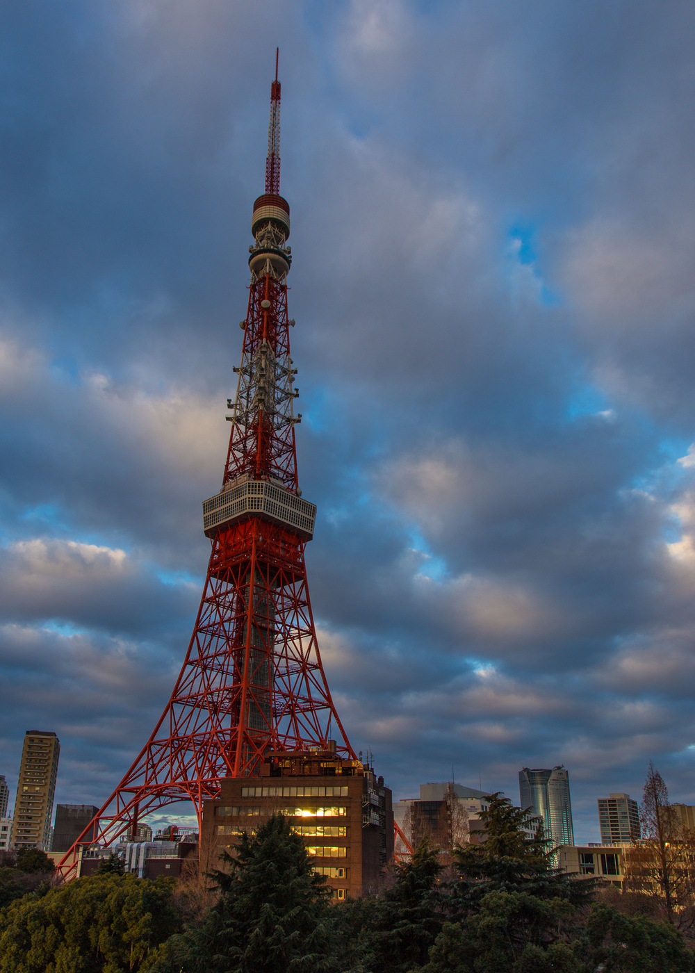 My hotel was right next to the Tokyo Tower, which made for some good photo opps. The light this day was really nice.
