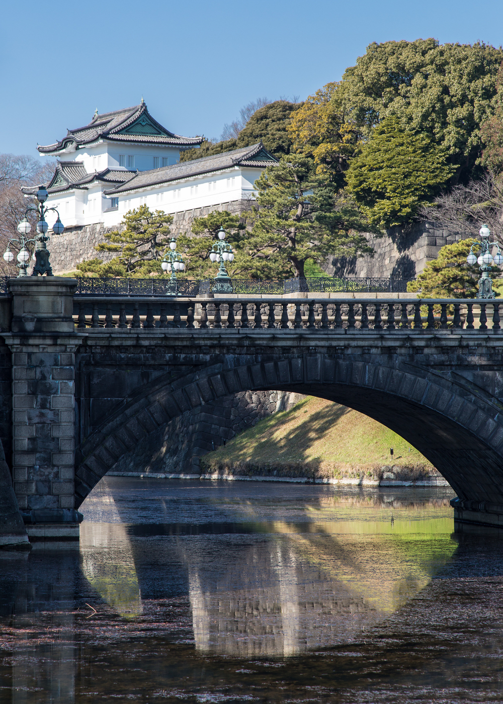 A view of the Imperial Palace