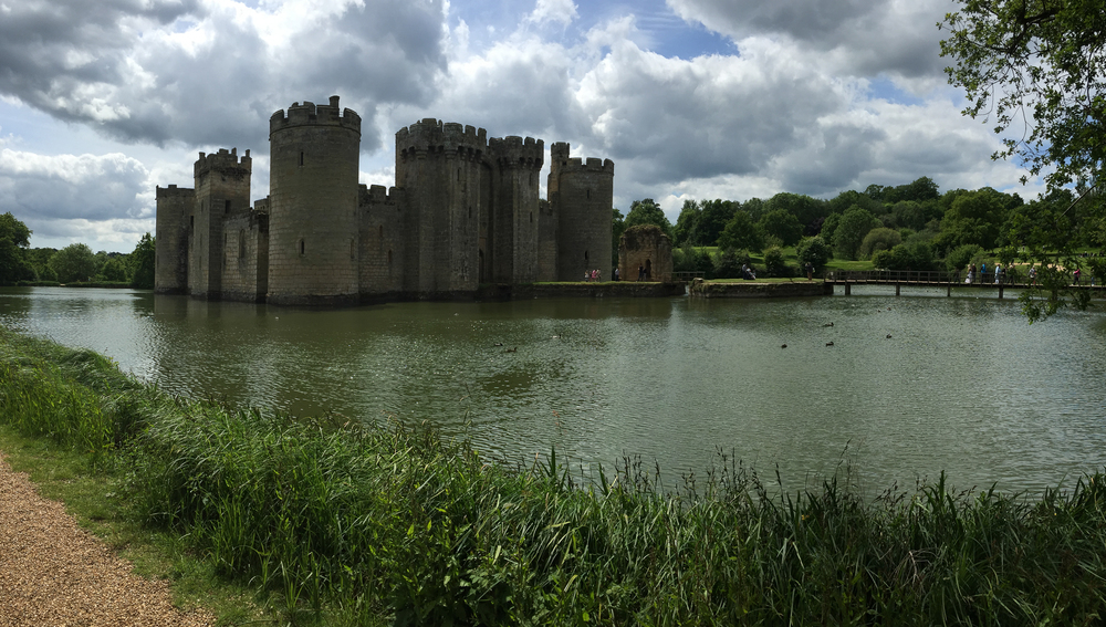 Bodiam Castle, our destination on Saturday