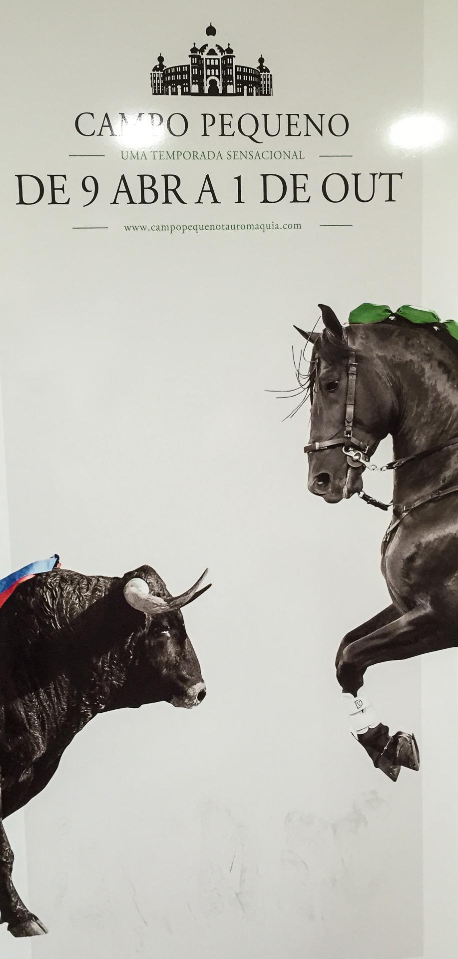 bullfight poster