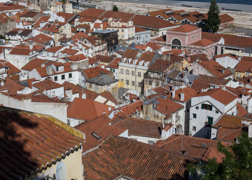This is a classic view of Lisbon for me. The rabbit warren of small streets, the tile roofs and the character that it all exudes.