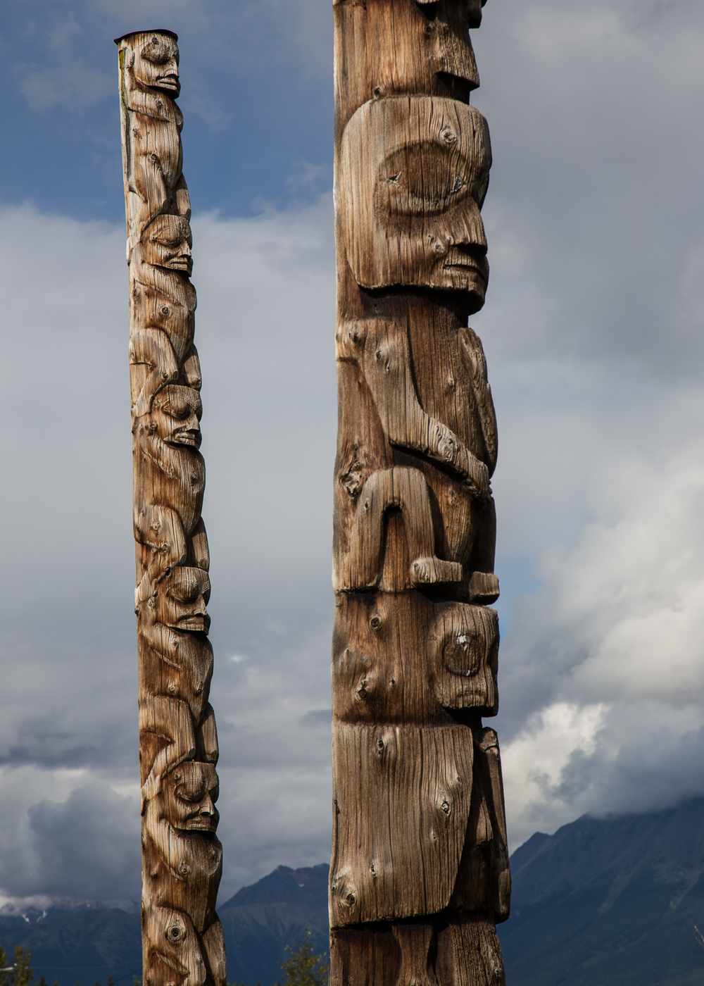 totem pole colour