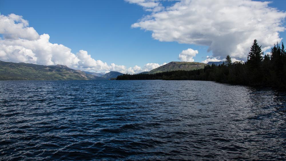 A look down Kinaskan Lake