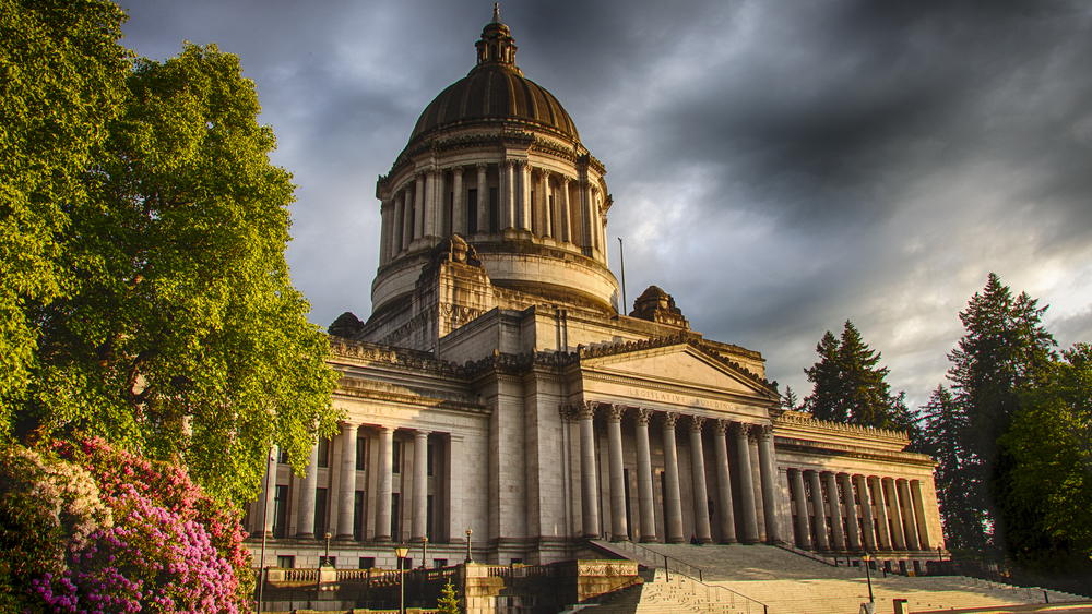 One more view of the Capitol Building in Olympia.