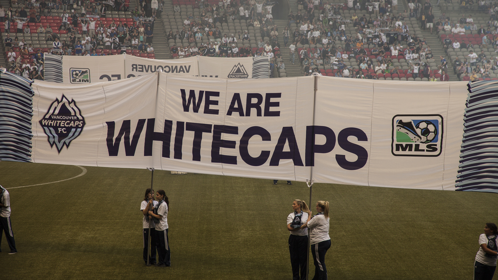 Whitecaps games are always a lot of fun!