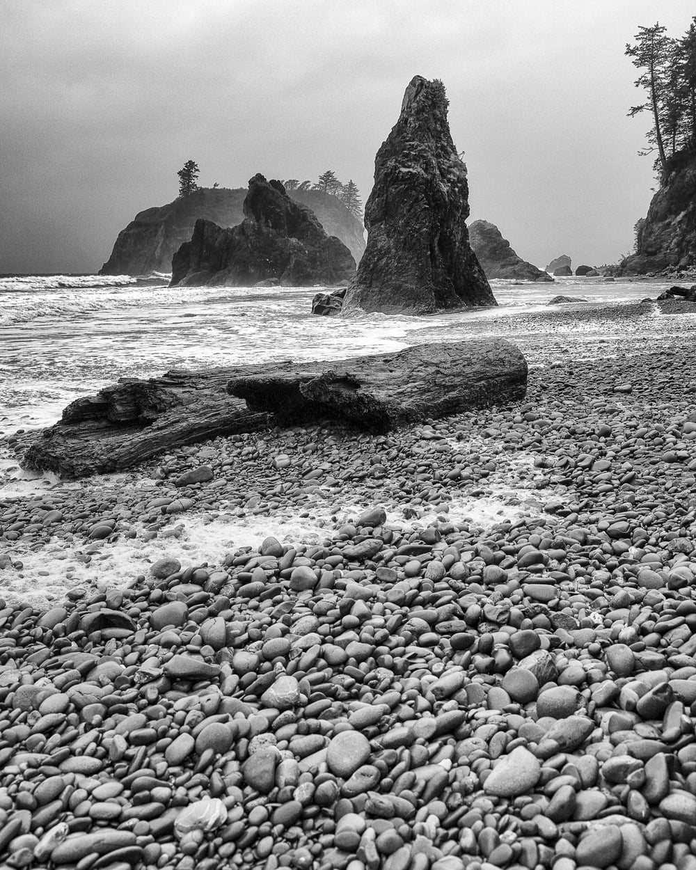 Another view of Ruby Beach.