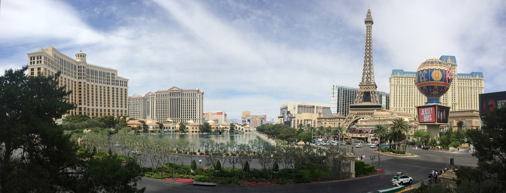 One last view of the Strip, before we wrapped up another amazing trip to Vegas.
