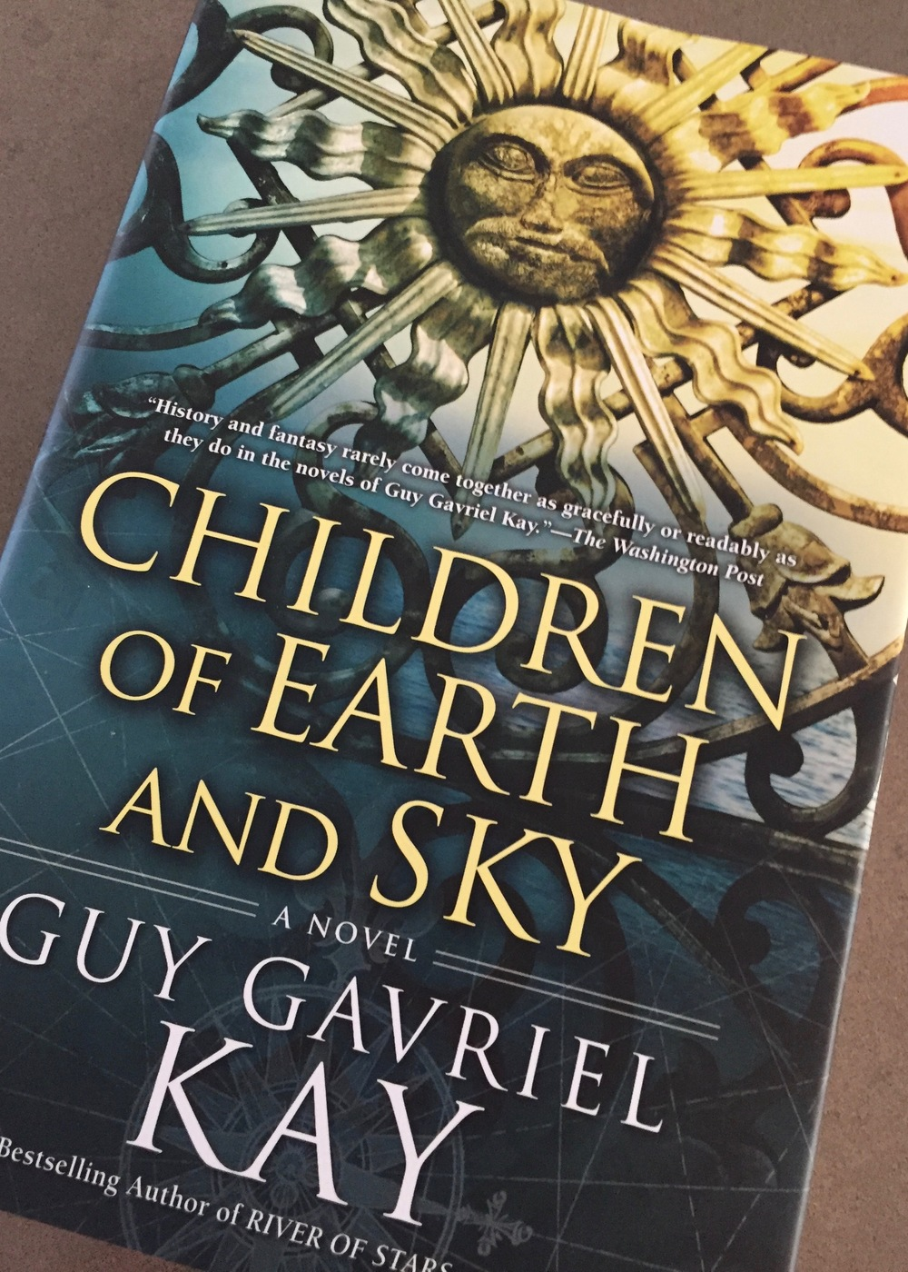 A new Guy Kay novel!