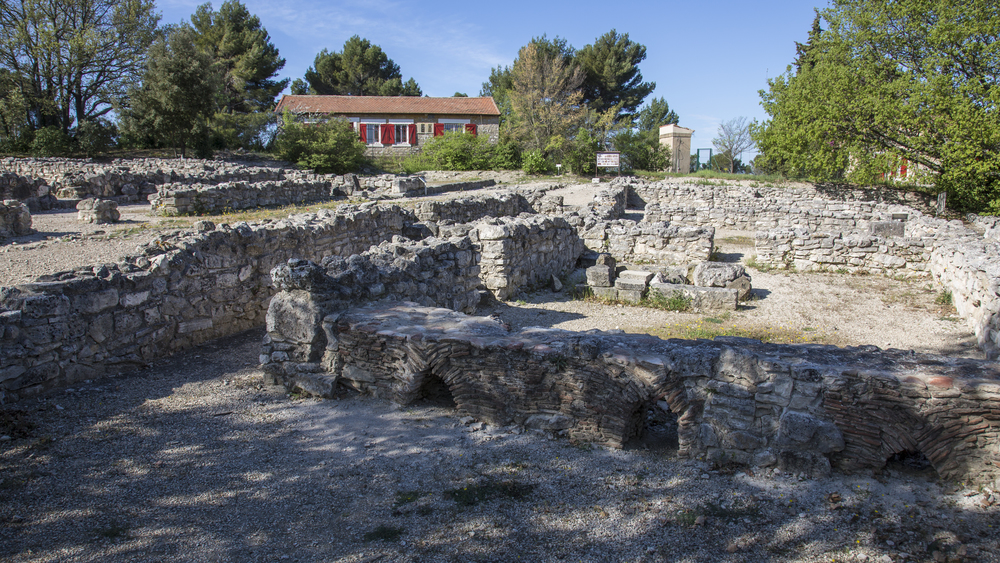 More of the ruins of Oppidum d'Entremont