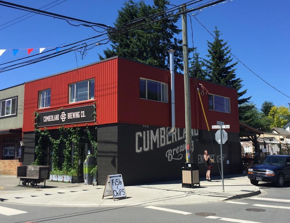 The Cumberland Brewery.