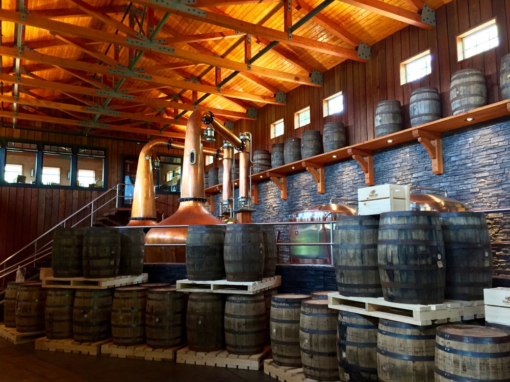 My favourite view of the distillery