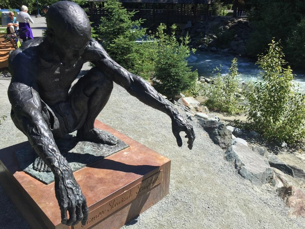James' amazing sculpture
