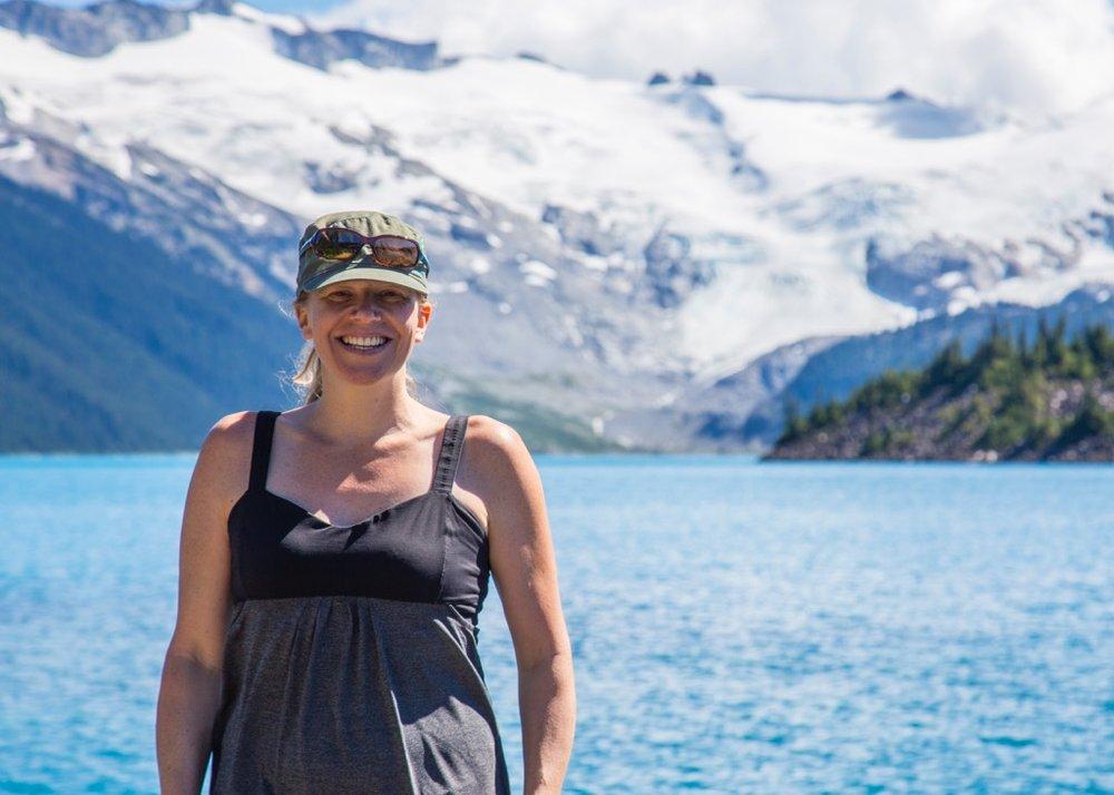 Justine at Garibaldi Lake