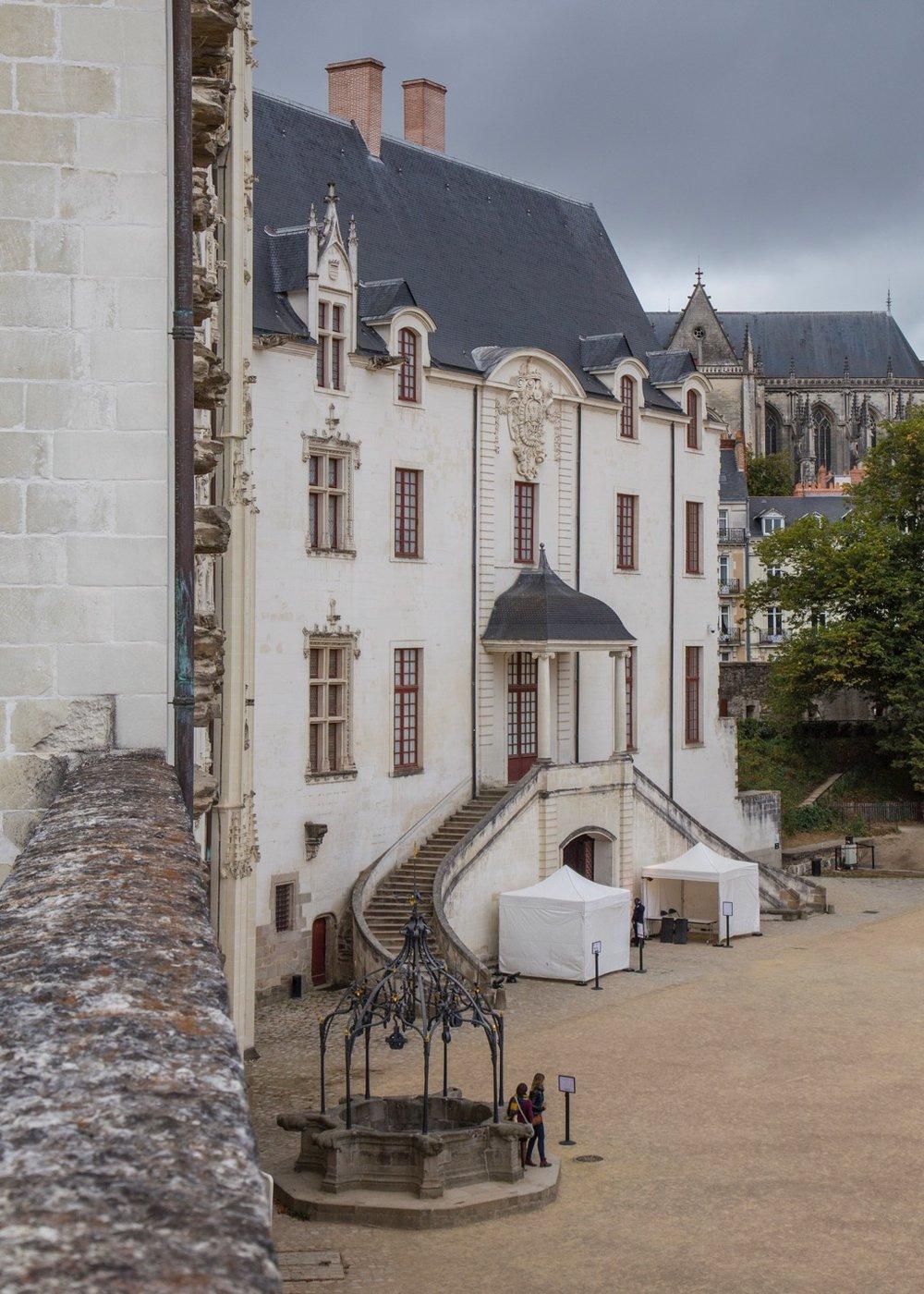 Inside the Château des ducs de Bretagne