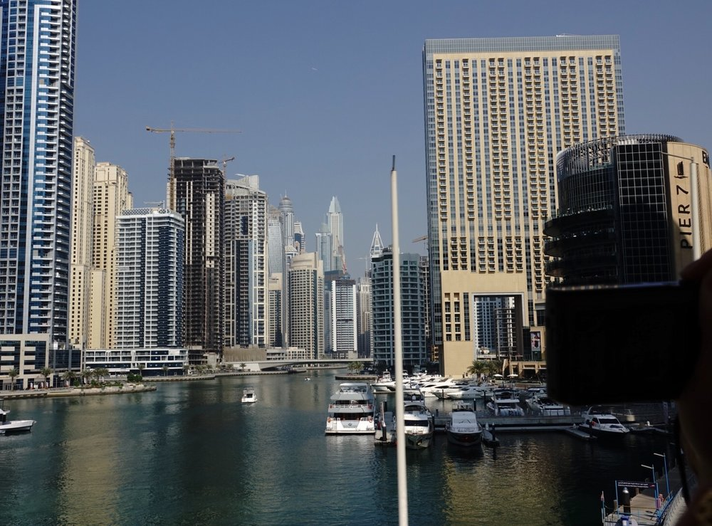 The Dubai Marina
