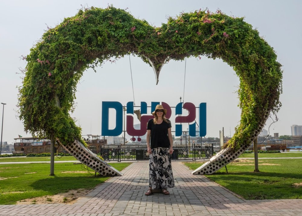 justine dubai sign