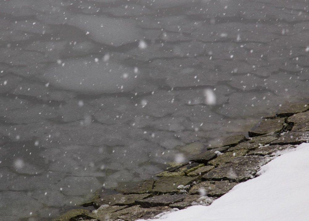 Mini ice flows