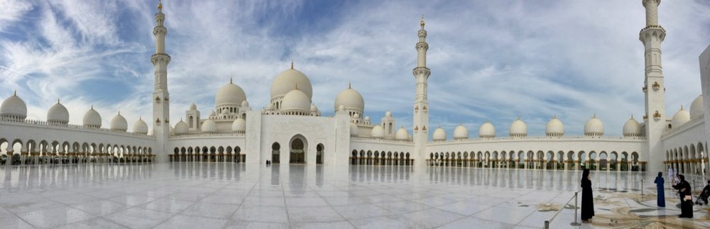 The inner courtyard allows the mosque to accommodate up to 40,000 people praying. This doesn't happen often, but it would be something to see.