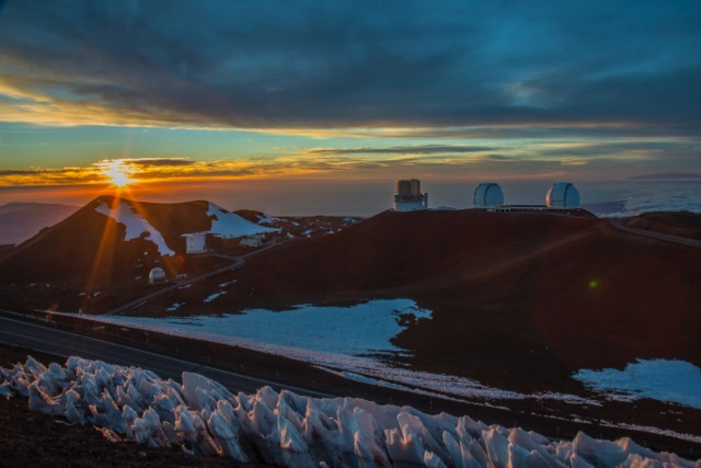 Sunset on Mauna Kea