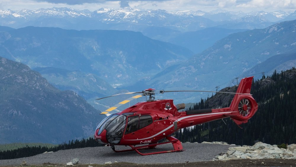 Helicopter tours look really fun!