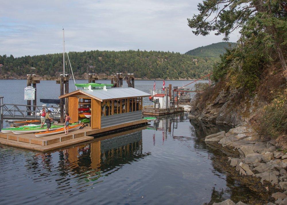 Public dock.