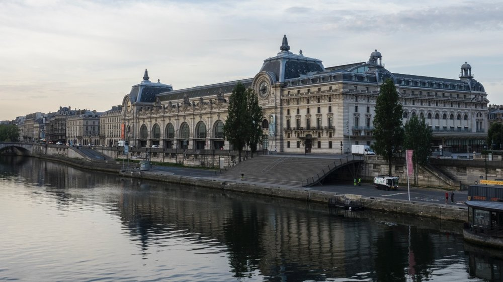 One of my favorite art galleries, the Musee D'Orsay