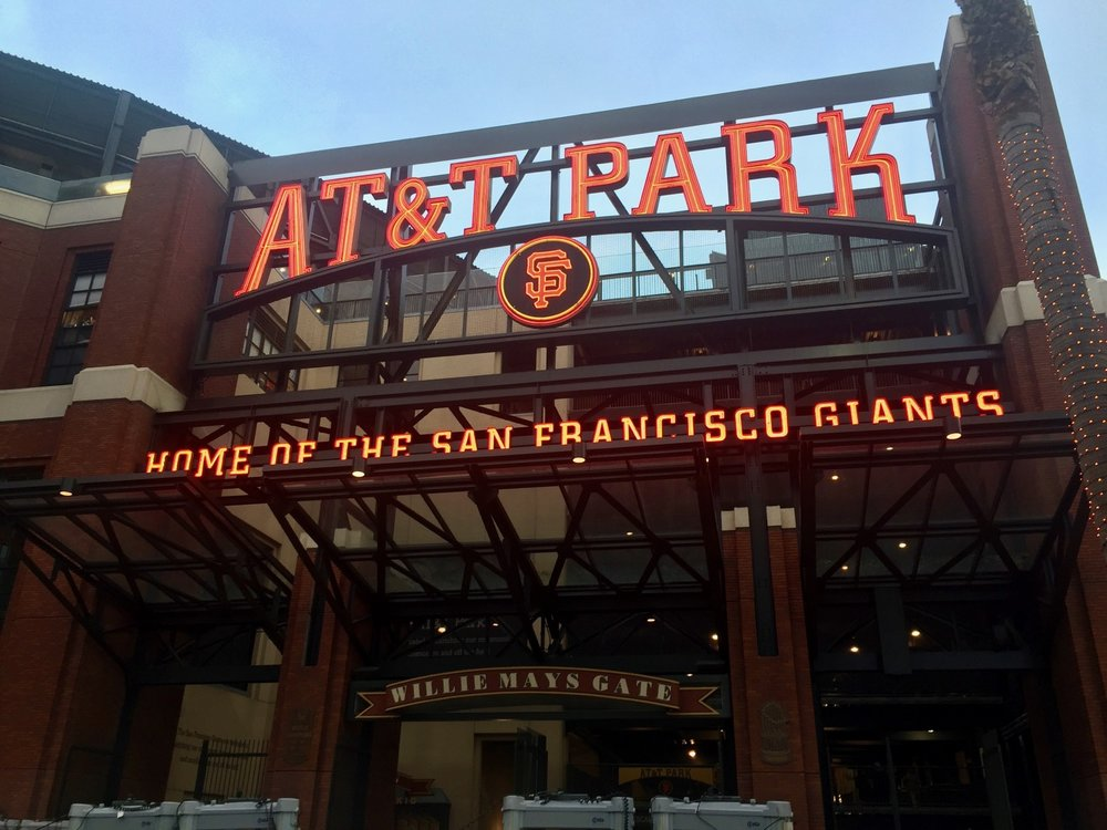 AT&T Park - my first visit to a great ballpark