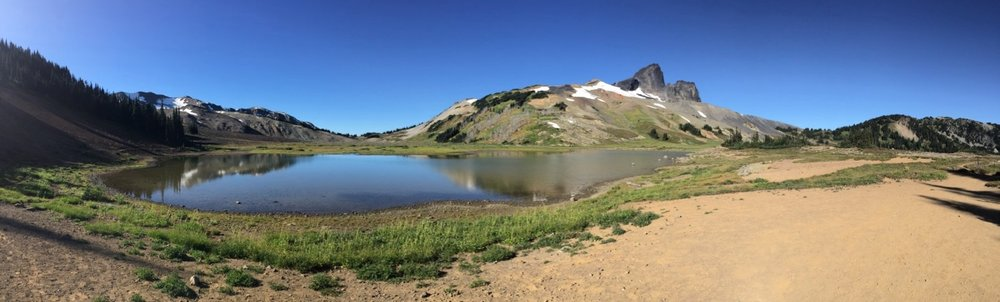 Another cool pano of Black Tusk.
