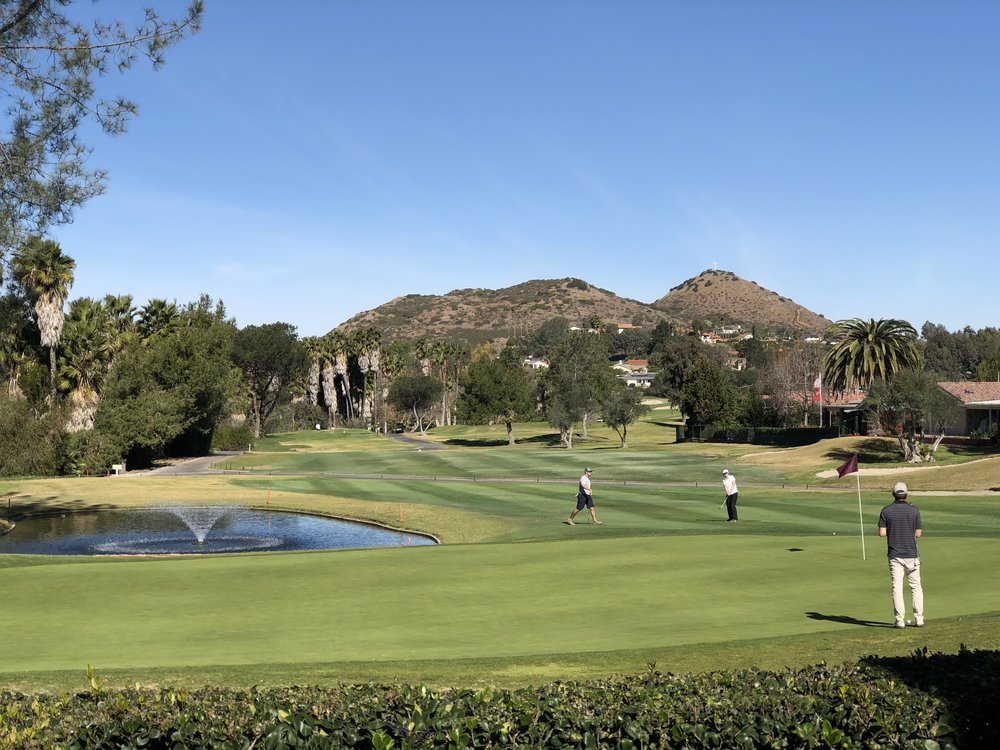 We stayed at Rancho Bernardo Inn, a golf resort about an hour northeast of San Diego.