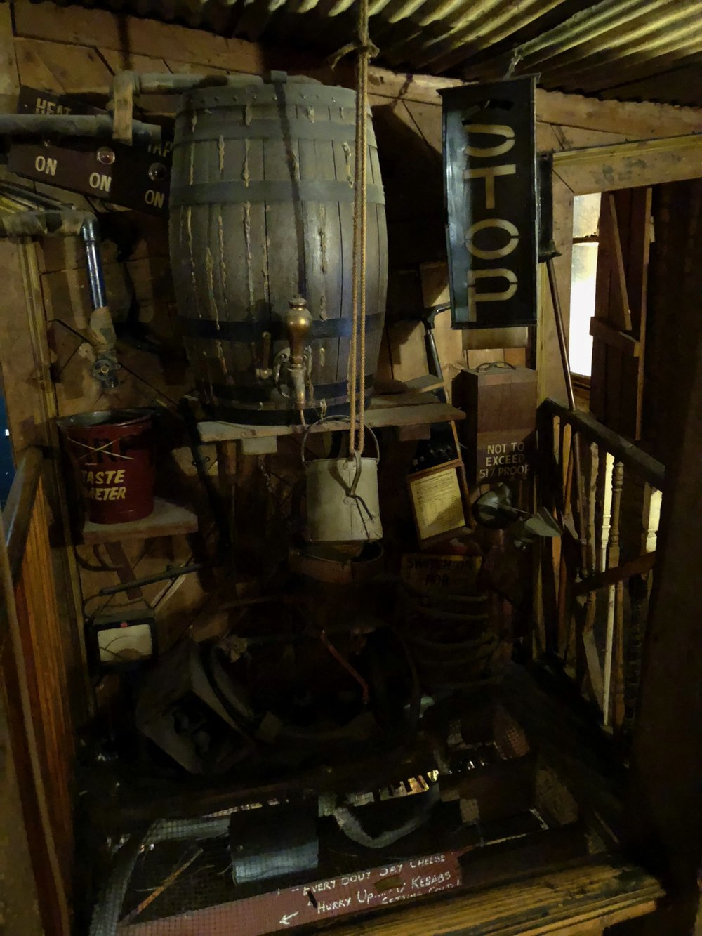 Some of the crazy stuff inside the pub.