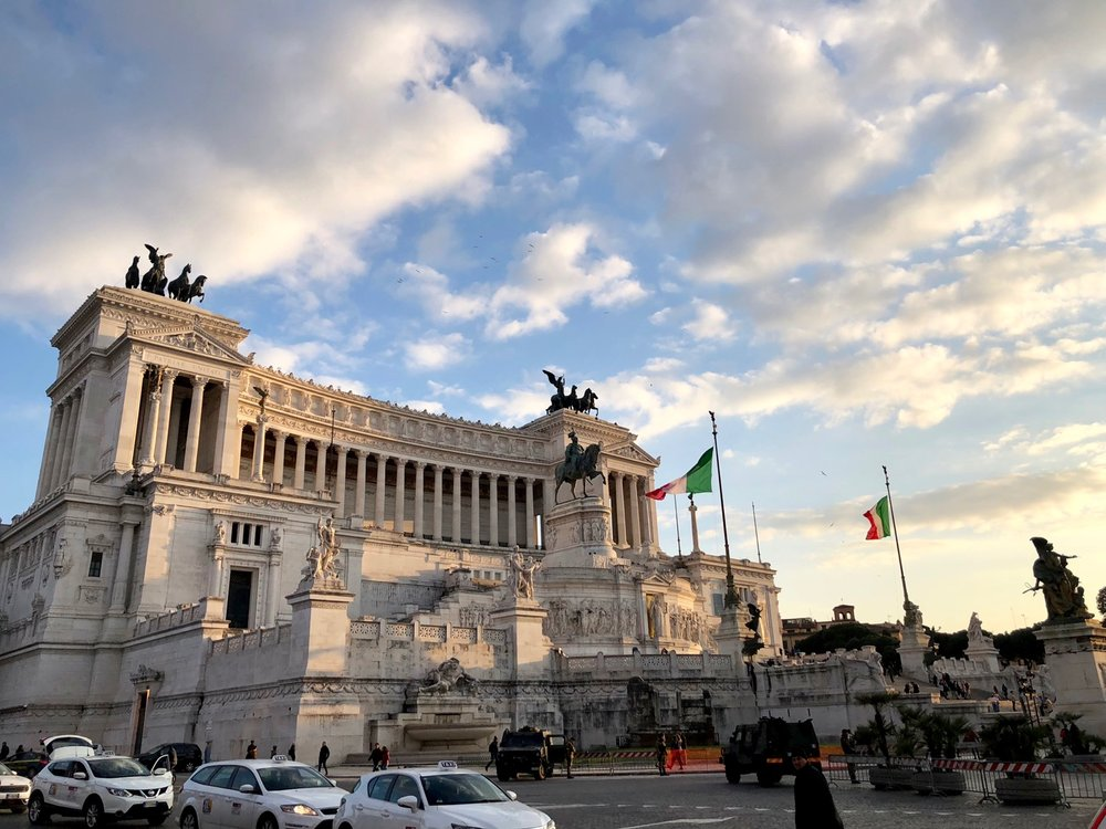 The Altare della Patria, this time during the day.