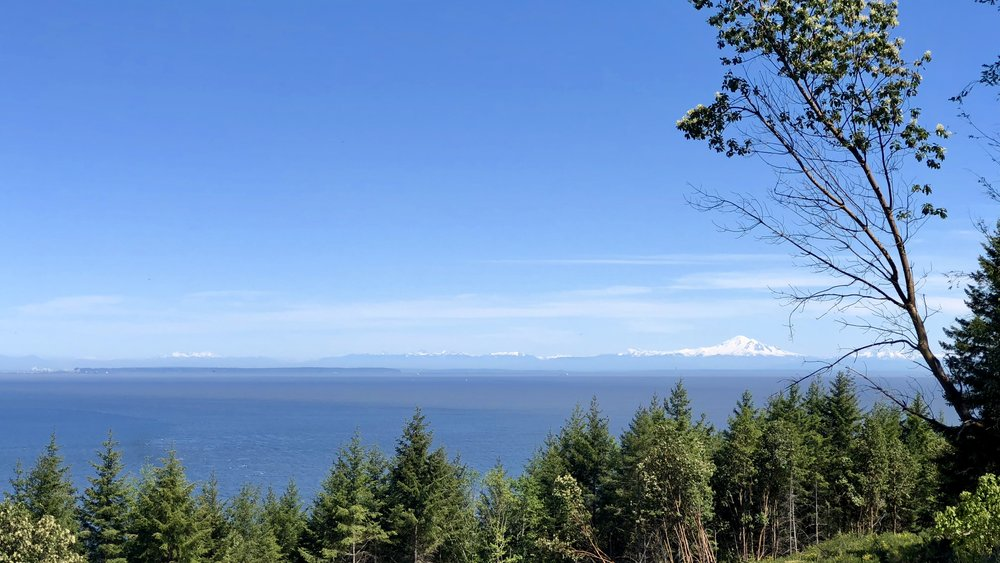 Our view of Mount Baker
