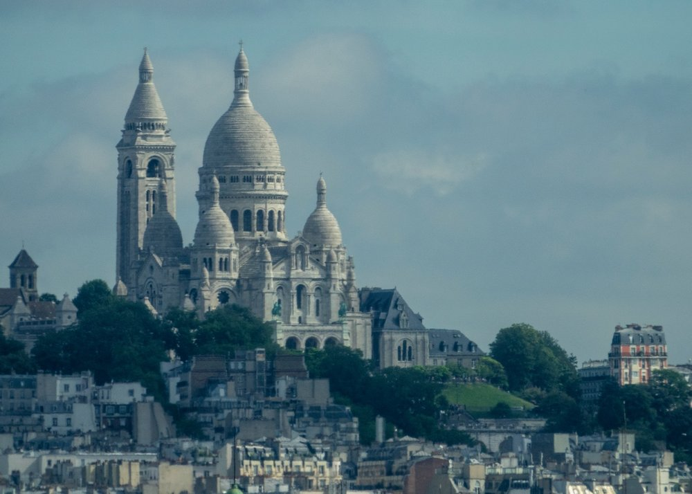 A close up of Sacre Couer.