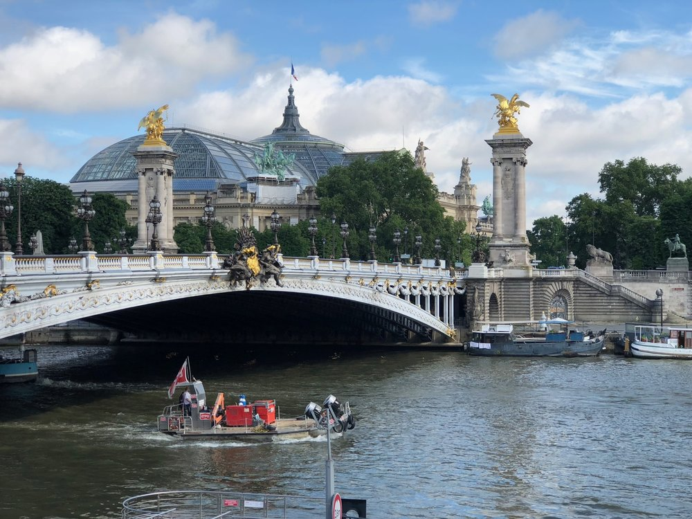 One of the views as I made my way to the Musee D'Orsay.