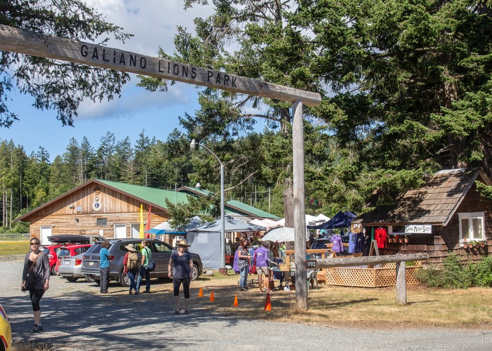 The Saturday Farmer's Market on Galiano