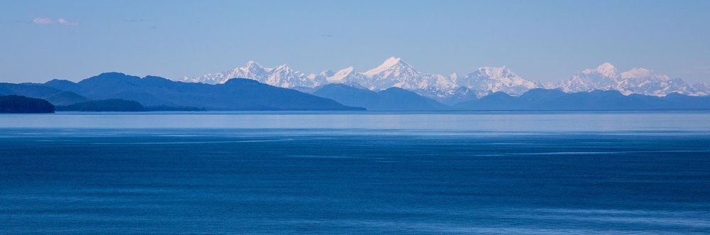 The scenery as we entered the strait towards Icy Strait Point was spectacular.