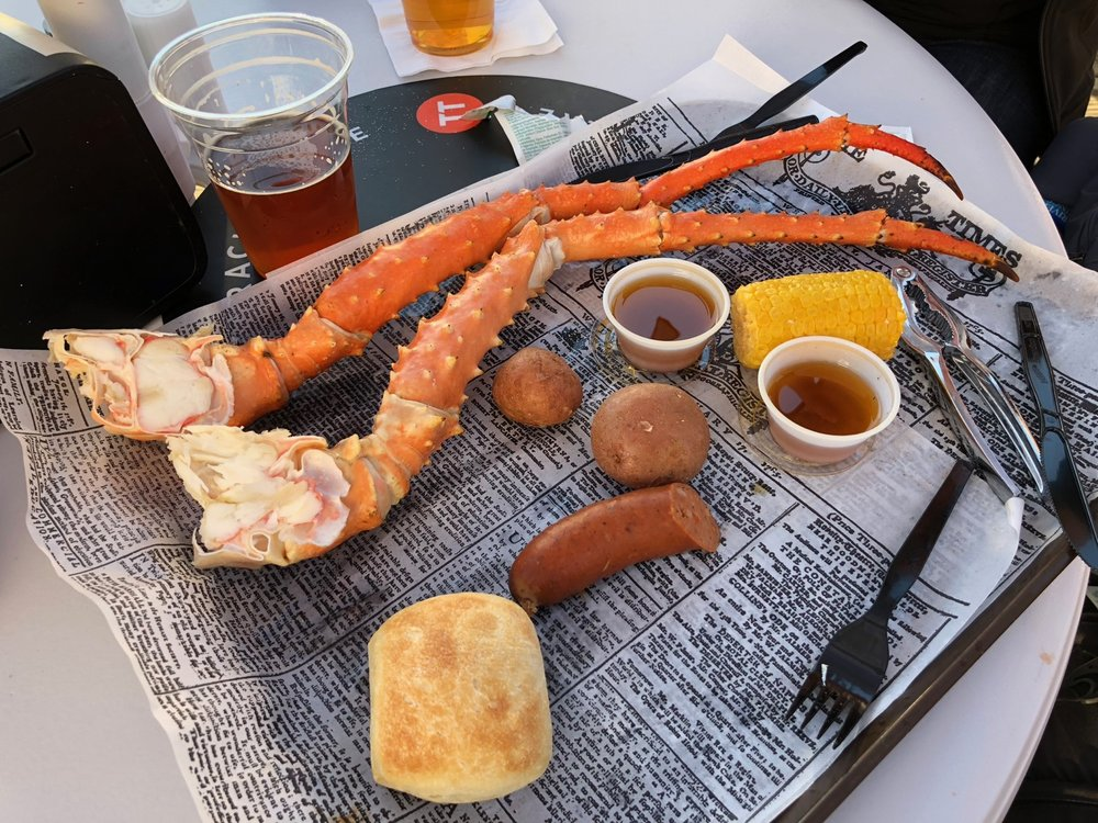 King crab - might be the best thing on the planet!