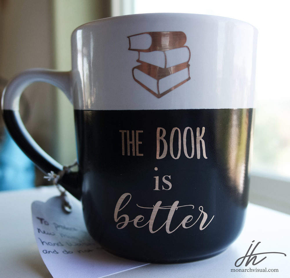 """The Book is Better"" Oversized Mug"""