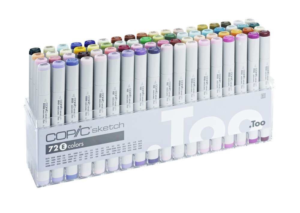 Copic Markers - Illustration, cardmaking
