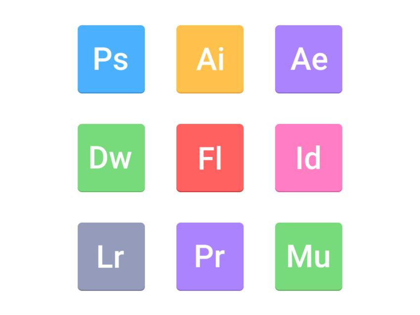 Adobe CS - For designing, digital painting, vector illustrations, photo editing, web development, video editing and publishing