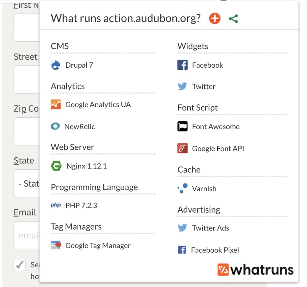 What Runs -