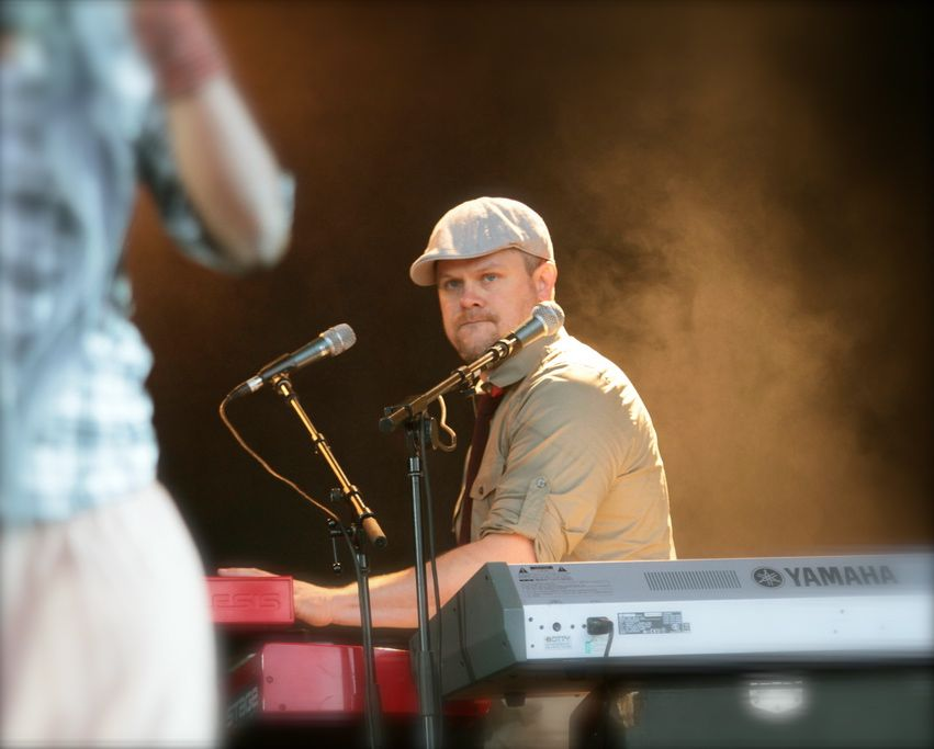 Dave Wyatt, Music Director for TobyMac. Photo by Renier Van Loggerenberg