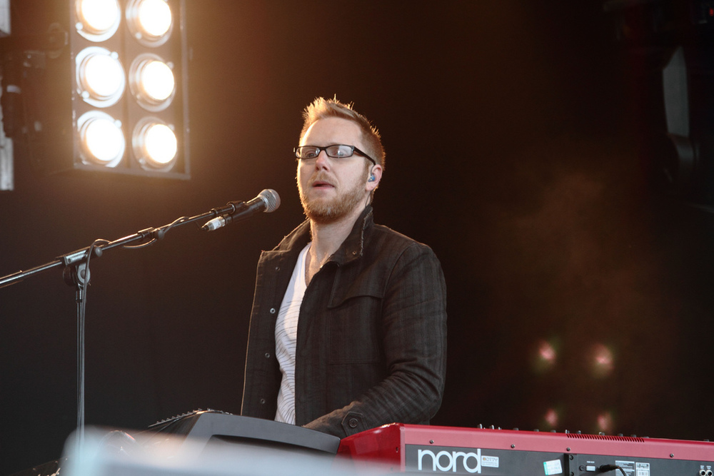 Matt Gilder,keyboardist and music director Photo byRenier Van Loggerenberg