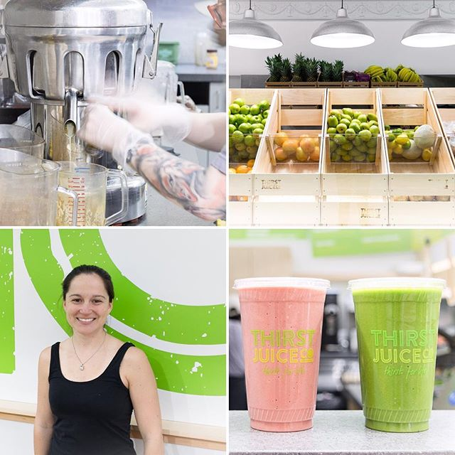 """""""We compost a lot but are still trying to figure out how to compost *everything*."""" On Air Terre Mer, a visit with @thirstjuiceco co-founder Heather Stevenson on starting a juice company with sustainability initiatives built in from day numero uno (like those compostable cups)! Link in bio!🌱🍓🍵♻️ …………….. #linkinbio #thirst #juice #igboston #igersboston#VSCOboston #boston #bostondotcom #bostonworld#igersmass #igersnewengland #igersusa #igworldclub #ig_northamerica#TheAmericanCollective #igers #allcities #f52grams #f52farmstand #feedfeed #foodvsco #eeeeeats #thekitchn #yahoofood #airterremer #flashesofdelight#thatsdarling #AOV #compost #organic"""