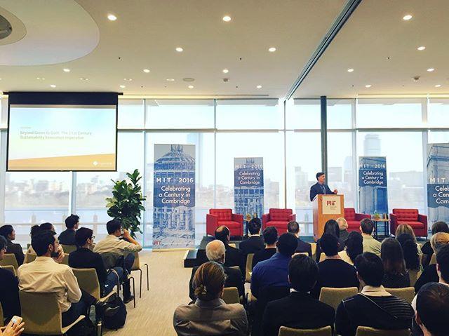 Prof. Dan Esty's 5 steps to sustainable future: innovation, integration, incentives, investment, implementation.  Thanks for another great Sustainability Summit, MIT!  Best one yet! ................. #MITSS16 #sustainnovate #MIT #igboston #igersboston#VSCOboston #boston #bostondotcom #bostonworld#followingboston #bostondaybook #igersmass #igersnewengland #igersusa #igworldclub #yale #ig_northamerica#TheAmericanCollective #igers #instadaily #instagood #VscoGood #VSCOcam #VSCOgrid #vsco #huffpostgram #allcities #AOV