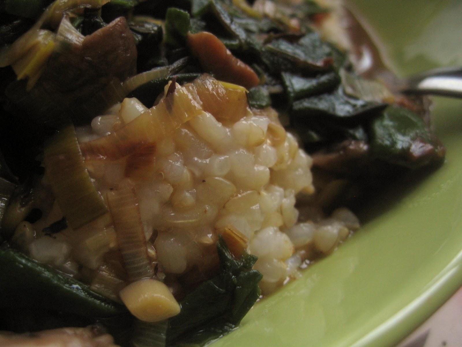 Mushroom Leek Gravy